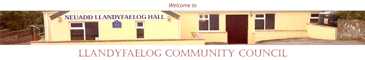 Header Image for Llandyfaelog Community Council - Cym